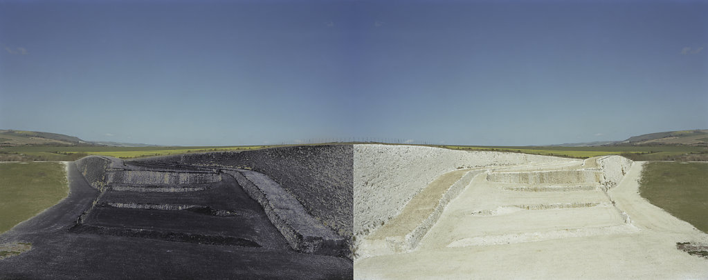 Tarring Neville Chalk Quarry, Sussex, C-Type Hand Printed 80 x 31in / 202 x 79 cm (Edition of 20)